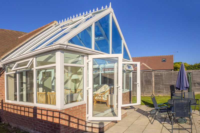 Glass Conservatory in Bedfordshire United Kingdom